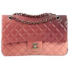Chanel Classic Double Flap Bag Ombre Quilted Lambskin Medium