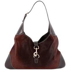 Gucci Jackie Original Shoulder Bag Pony Hair Medium