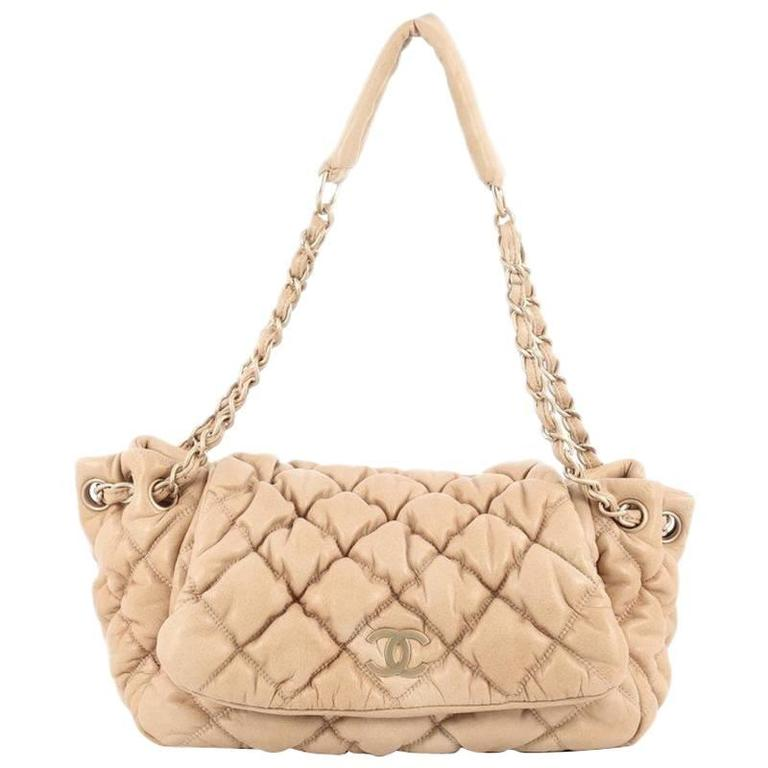 b5c2ad1194dd02 Chanel Bubble Accordion Flap Bag Quilted Lambskin Medium at 1stdibs