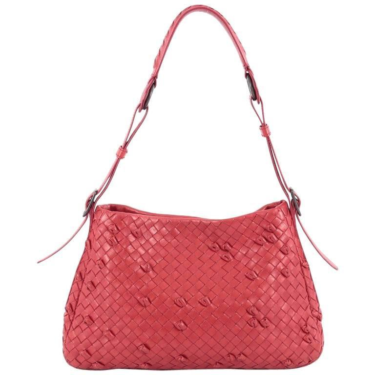 6c282b34675f Bottega Veneta Naruto Knot Shoulder Bag Intrecciato Nappa Small For Sale