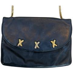 1990s Paloma Picasso 3 X's Shoulder Bag