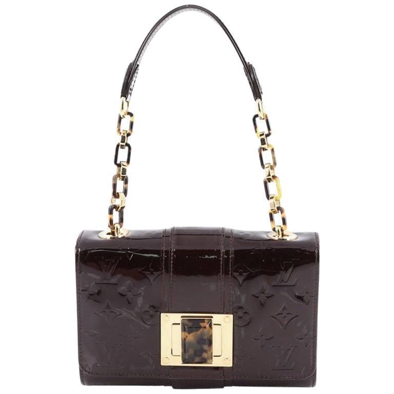 ca8ee48e1771f8 Louis Vuitton Vermont Avenue Handbag Monogram Vernis For Sale at 1stdibs