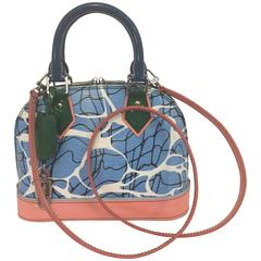 Lively Louis Vuitton Alma BB Mini Bag in Vibrant Multi Colors