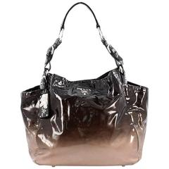 Prada Side Pocket Hobo Vernice Sfumata Medium