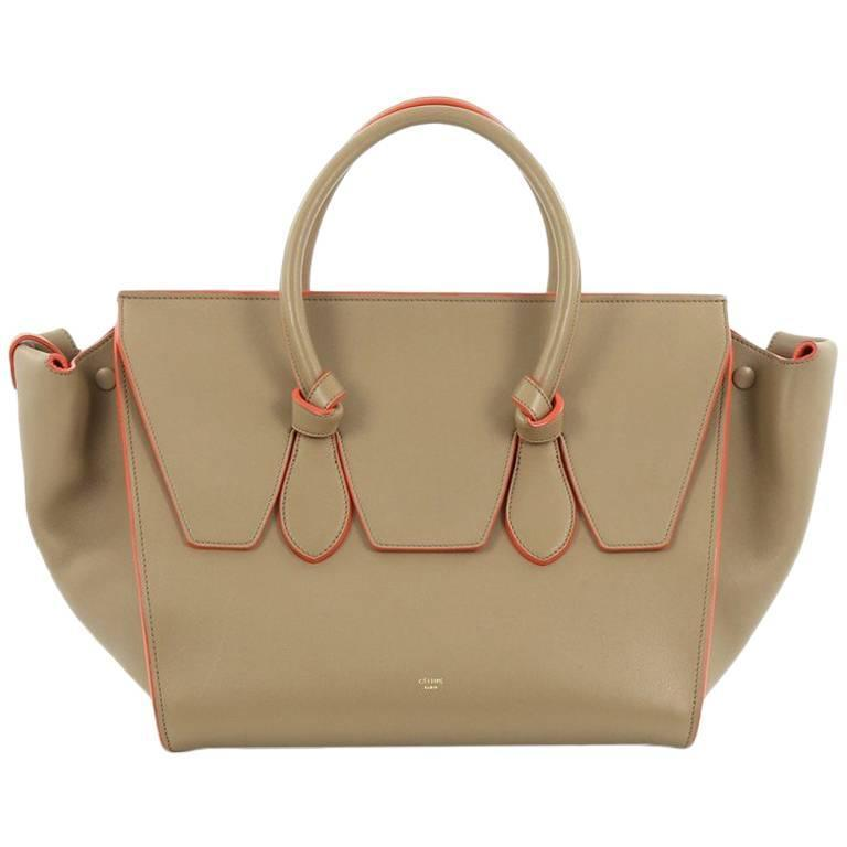Celine Tie Knot Tote Smooth Leather Large 1
