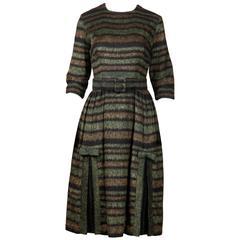 Celine Jasmin Vintage 1950s Dress + Belt