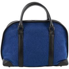 Proenza Schouler Bergen Duffle Bag Felt with Leather