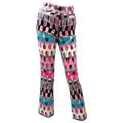 Vintage Pucci Pants - Ladies 100% Cotton Rare