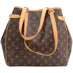 Louis Vuitton Batignolles Vertical Monogram Canvas Shoulder Hand Bag