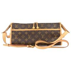 Louis Vuitton Popincourt Long Monogram Canvas Shoulder Bag - Special Order