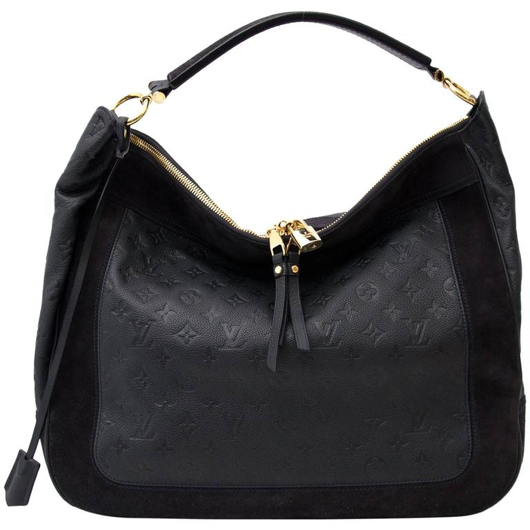 736e33266482 Louis Vuitton Black Audacieuse Monogram Bag GM at 1stdibs