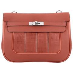 Hermes Berline Handbag Perforated Swift 28