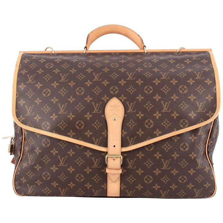 454e32986ea5 Louis Vuitton Sac Chasse Hunting Bag Monogram Canvas at 1stdibs