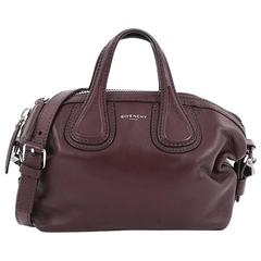 Givenchy Nightingale Crossbody Bag Waxed Leather Micro