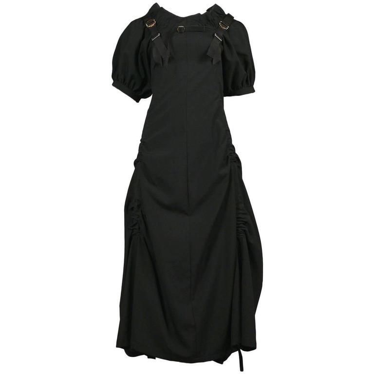Junya Watanabe Black Parachute Dress 2003