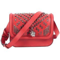 Alexander McQueen Padlock Crossbody Bag Studded Leather