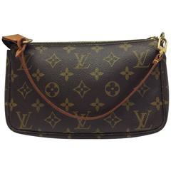 Louis Vuitton Pouchette Monogram Shoulder Purse