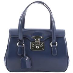 Gucci Lady Lock Satchel Leather Small