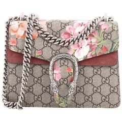Gucci Dionysus Handbag Blooms Print GG Coated Canvas Mini