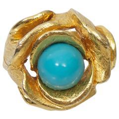 Pauline Rader Turquoise Ring