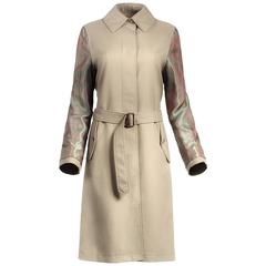 Maison Martin Margiela Reverse Sleeve Trench Coat 20th Century