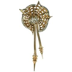 Marcel Boucher Retro Dangle Brooch
