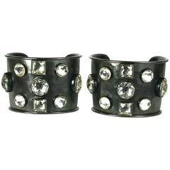 Amazing Yves Saint Laurent Cuff Bracelets