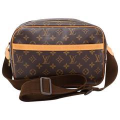 Louis Vuitton Reporter PM Monogram Canvas Shoulder Bag
