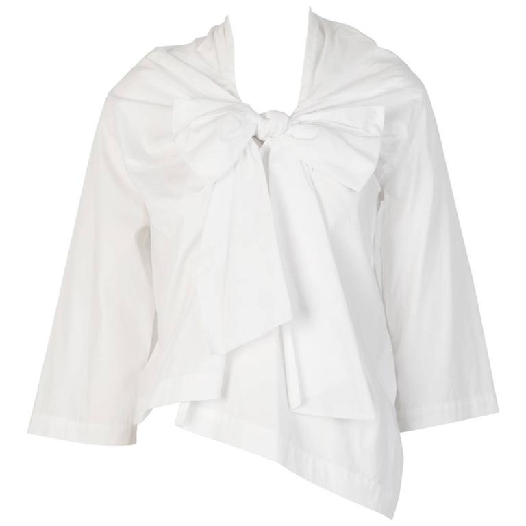 tricot COMME DES GARÇONS Bow Tie Top  For Sale