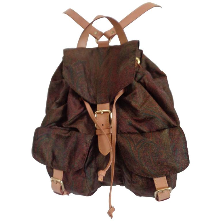 Etro Milano Backpack