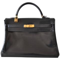 Hermes Kelly 32 Black Box