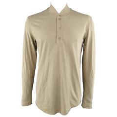 MAISON MARTIN MARGIELA Khaki Heather Military Long Sleeve REPLICA Pullover
