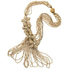 Early Miriam Haskell Seed Pearl Necklace