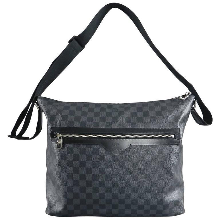 5cc51216b Louis Vuitton Damier graphite Mick GM messenger bag at 1stdibs