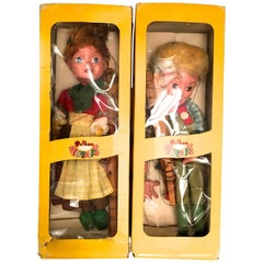 Vintage Pelham Puppets Hansel and Gretel Marionette Puppets