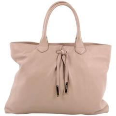 Burberry Studley Tote Leather Medium