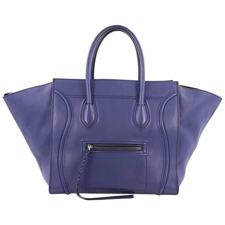 Celine Phantom Handbag Smooth Leather Medium 1