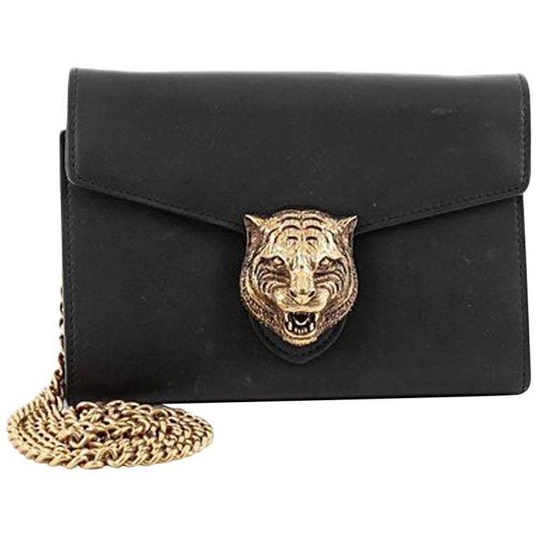 9422da8dd2c Gucci Animalier Chain Wallet Leather at 1stdibs