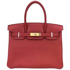 Hermes Garance Togo Leather 30cm Birkin