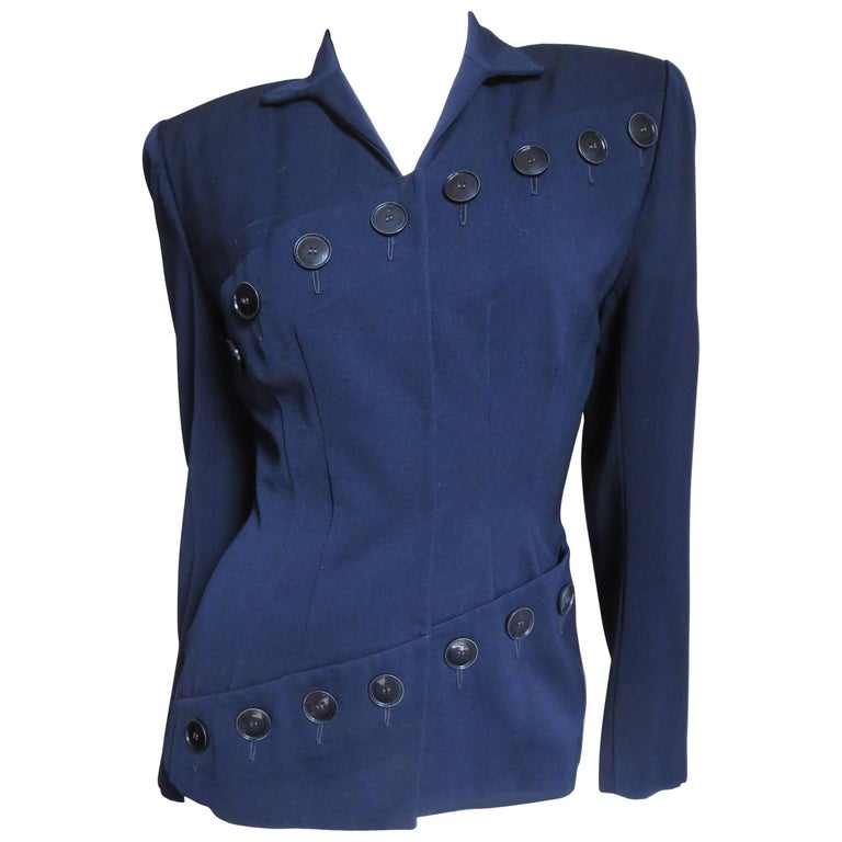 1940's Lilli Ann Button Detail Jacket
