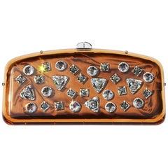 TOM FORD for YVES SAINT LAURENT 2003 Jeweled Embellished Runway Clutch Bag