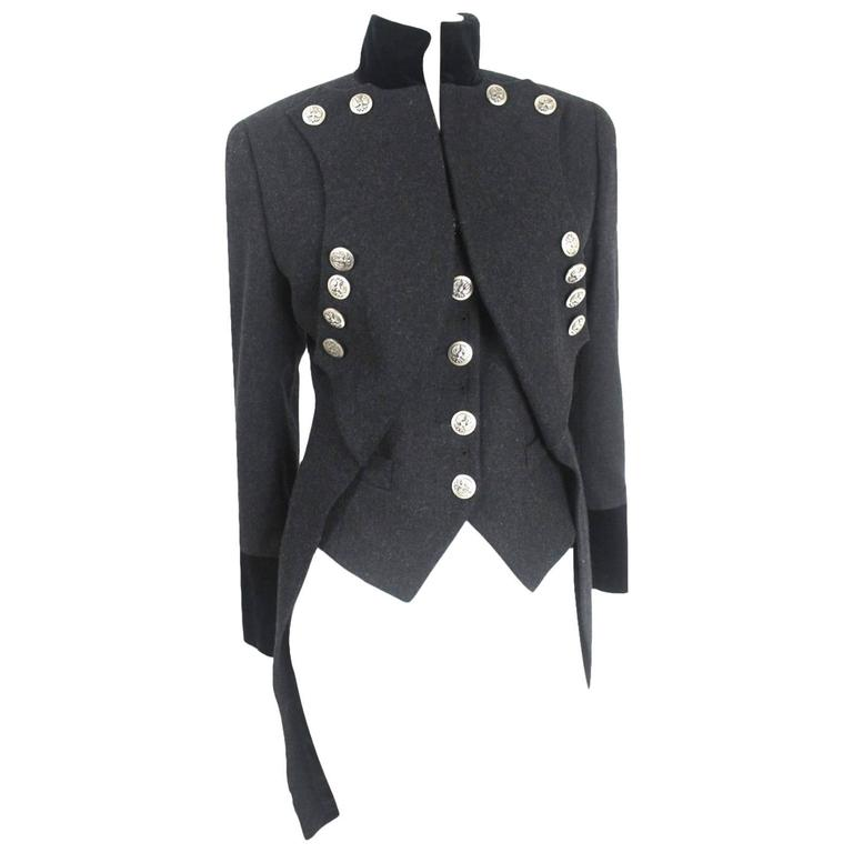 Dolce & Gabbana Military Tailcoat and Vest