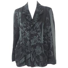 Comme des Garcons 1992 Collection Damask Jacket