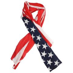Ralph Lauren American Flag Scarf