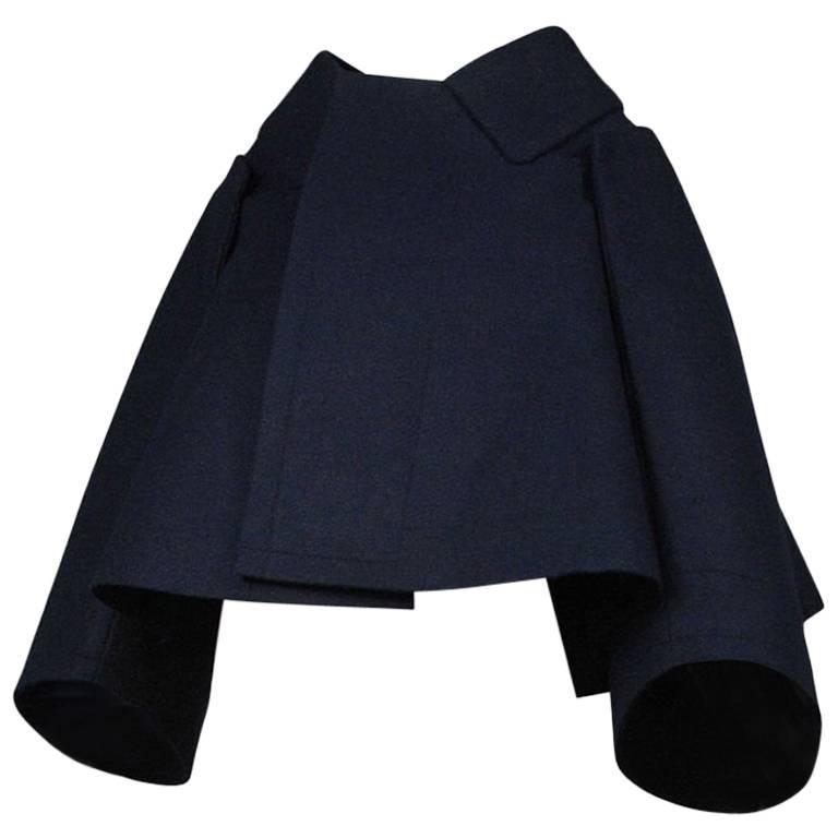 Comme des Garcons Navy Flat Jacket 2012 1