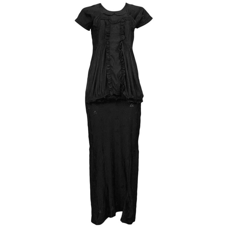 Comme des Garcons Black Doll Dress 2007