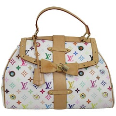 "Louis Vuitton Nulmbered limited Edition ""Eye Love You"" Murakami bag"