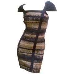 Herve Leger Iconic Sexy Knit Bandage Dress Size Small
