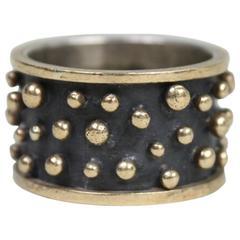 Anne Pratt 18k & Sterling Ring