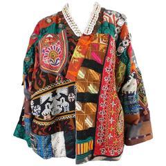 1980's Laise Adzer Patchwork Jacket